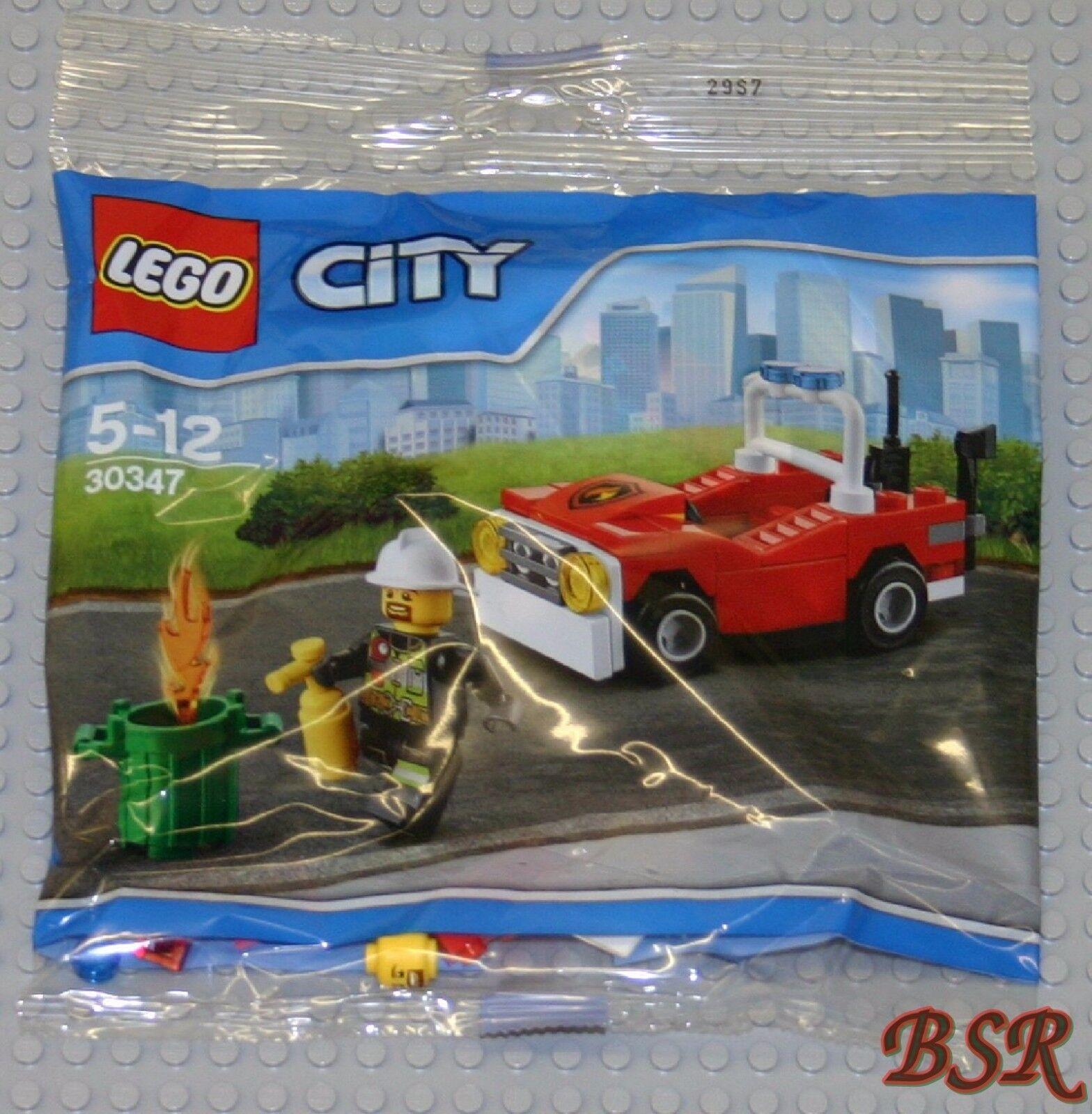 20x LEGO® City Polybag   30347 Feuerwehrauto   NEU & OVP & 0.- Versand