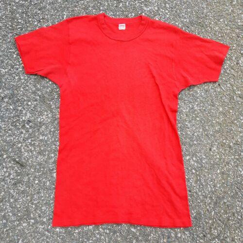 Vintage 60s 70s Hanes Irregular Tshirt Paper Thin
