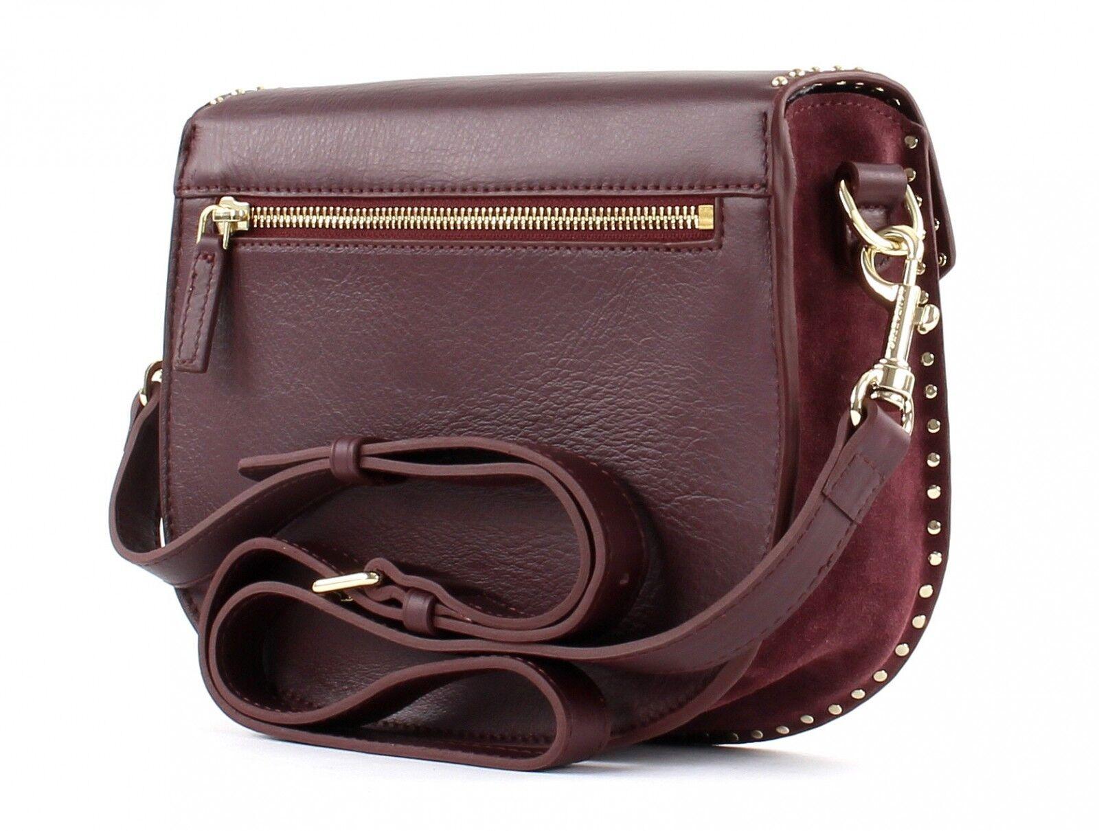 LANCASTER Mademoiselle Studs Shoulder Bag Umhängetasche Tasche Bordeaux Bordeaux Bordeaux lilat | Kompletter Spezifikationsbereich  | Moderne Technologie  | Moderne Technologie  dcd199