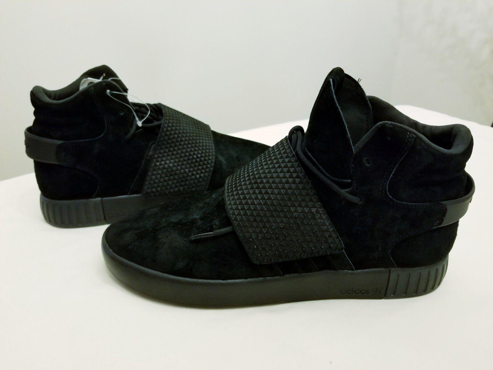 Adidas originali tre uomini neri e scarpe - da ginnastica invasore tubulare - scarpe bb1169 sz 11 406fbd