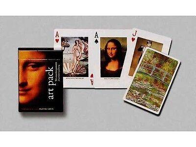Art Pack single deck By Piatnik Playing Cards