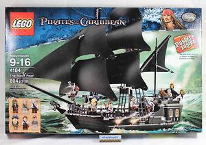 Lego Pirates Of The Caribbean 4184 Black Pearl 804 Pcs Sealed Nisb