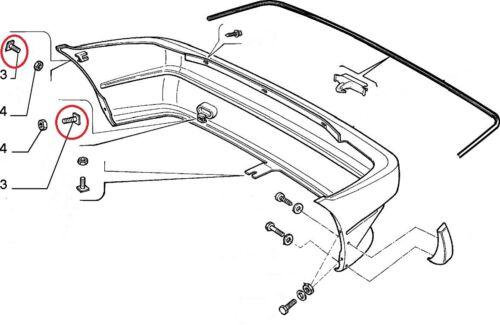 Fiat Uno inc Turbo Bumper Bolt Front Rear