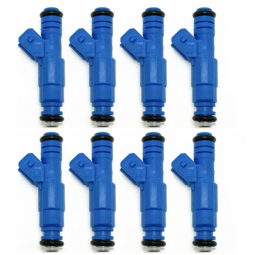 8X 30LB 7 hole Bosch III Upgraded Fuel Injectors For 96-04 Ford Mustang 4.6L