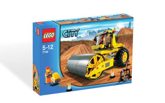 BRe nuovo Lego città  Construction Single-Drum Roller 7746  Sconto del 40%