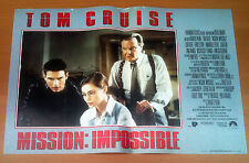 MISSION IMPOSSIBLE fotobusta poster lobby card affiche Tom Cruise Brian De Palma