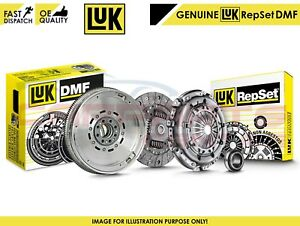 FOR-BMW-GENUINE-LUK-DUAL-MASS-FLYWHEEL-CLUTCH-COVER-DISCS-BEARING-KIT-SET-N47