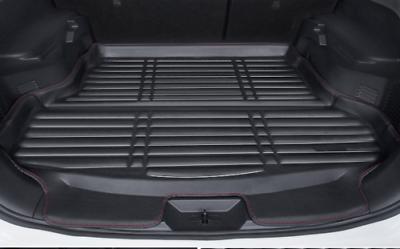 biosp Car Rear Trunk Mat Cargo Liner for Nissan Altima 2013 2014 2015 2016 2017 2018 All Weather Full Black Heavy Duty Rubber Custom Fit-Waterproof-Odorless