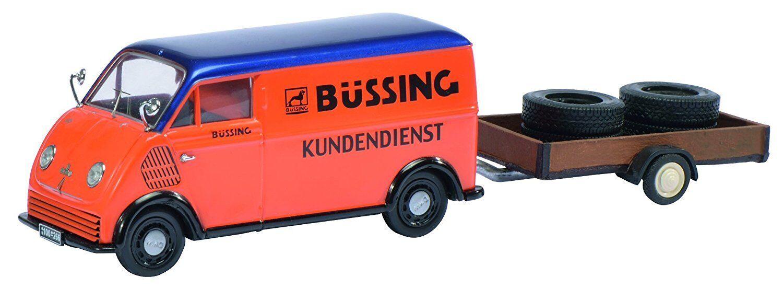 450238900 DKW rapidement astre Büssing service client avec Remorque Pneus, 1 43 Schuco