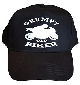 Grumpy-Old-Biker-Cotton-Bikers-Baseball-Cap-Motorbike-Accessories-Gift-Ideas