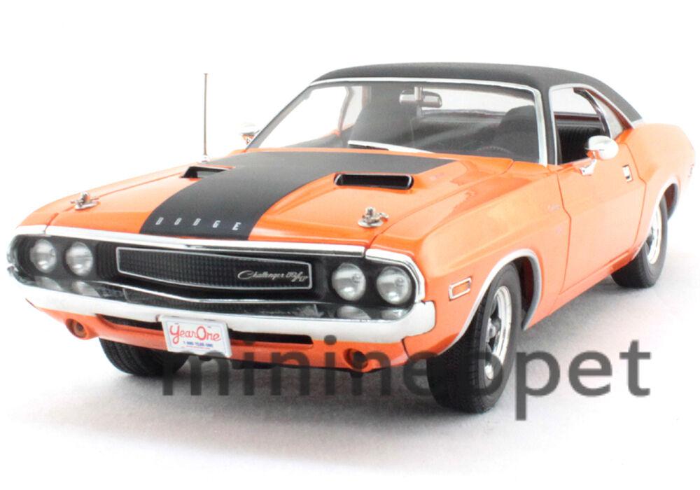 GREENLIGHT 12947 FAST & FURIOUS 1970 70 DODGE CHALLENGER R T 1 18 DIECAST orange