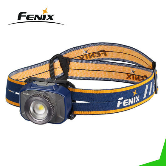 Fenix HL40R 600 Lumen Focusable Spot Flood Rechargeable LED Headlamp (bluee)