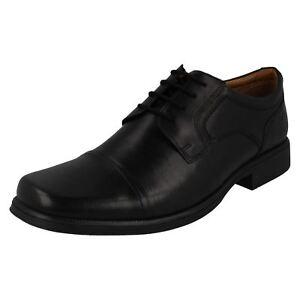 Kleidung & Accessoires Mens Clarks Formal Lace Up Shoes 'huckley Cap' Herrenschuhe