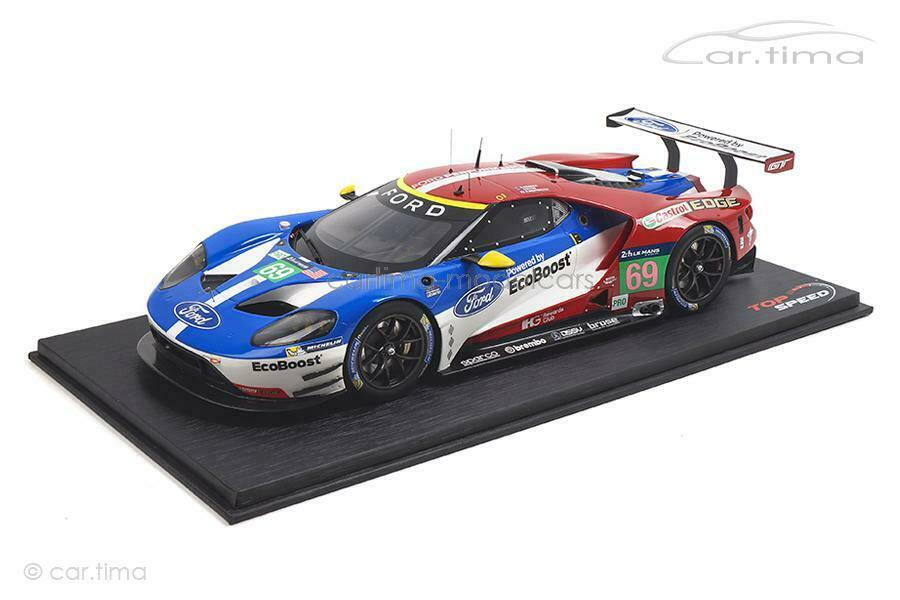 Ford GT - LMGTE Pro 24h Le Mans 2016 - TopSpeed 1 18 - TS0065