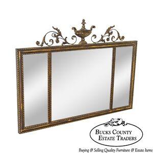 Labarge Adams Style Beveled 3 Panel Wall Mirror Ebay