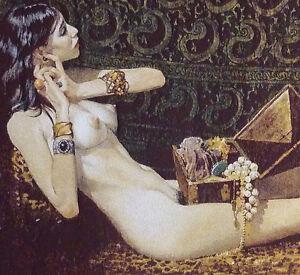 Entertaining classic nude art were