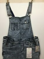 Harmony & Havoc Womens Distressed Slim Fit Overalls Size 11