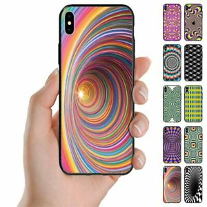 For Samsung Galaxy Note Series - Optical Illusion Print Mobile Phone Back Case
