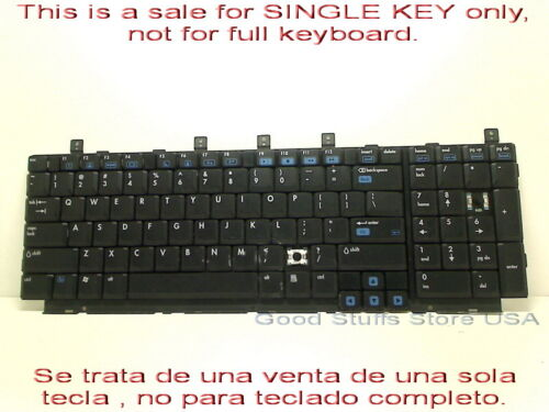 Single Key Replacement HP Pavilion DV8000 Laptop K//B PK13ZK31000 SPS-403809-001