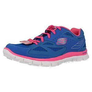 neon blu memory Girls 81895 in align Scarpe ginnastica con foam Appeal lacci blu da Skech Skechers 4qw48ZRS