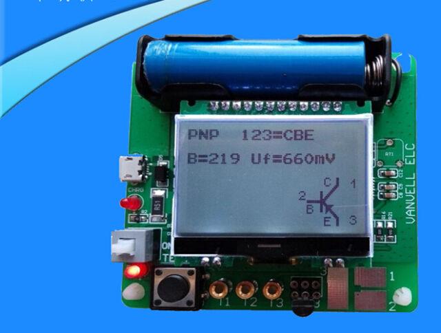 Mega328 ESR Tester Meter Transistor Capacitance Inductance PNP MOS NPN JFET