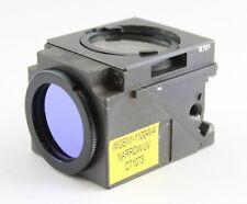 Nikon Narrow Uv Dapi 1104v4 Fluorescence Cube Eclipse Quadfluor Microscope