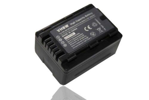 BATERIA PARA Panasonic HDC-SD80EG-K / HDC-SD90EG-K / HDC-SD99EG-K / HDC-SDX1EG-H