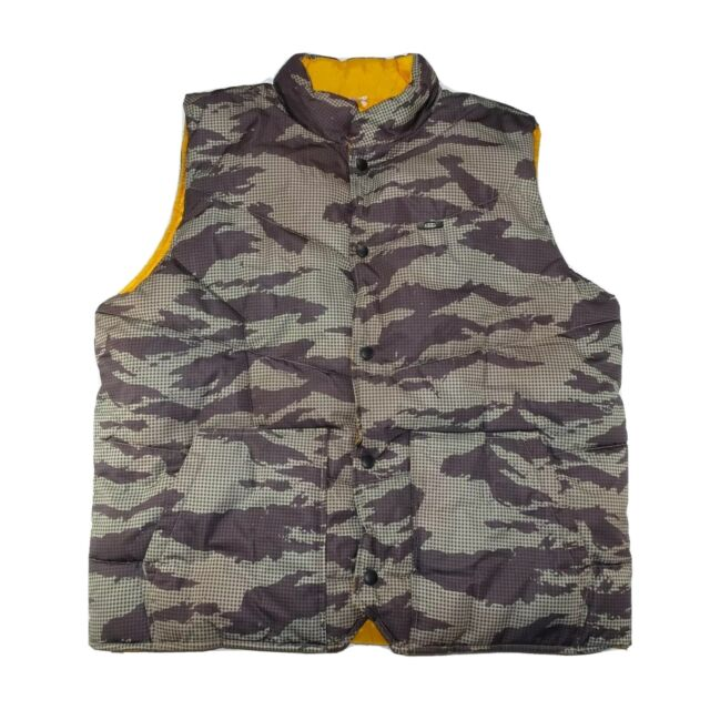 Oakley Mens Reversible Camo Reflective size XL Hunting Puffer Vest