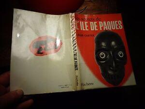Ethnologie-Exploration-LES-SECRETS-DE-L-039-ILE-DE-PAQUES-Louis-Castex-1966