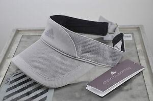 adidas stella mccartney schildkappe visor cap damen tennis. Black Bedroom Furniture Sets. Home Design Ideas