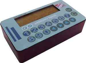 Arduino-Touch-16x2-LCD-with-16-way-keypad-and-nano-328