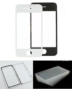 displayglas-Vidrio-LCD-Marco-OCA-ADHESIVO-Negro-Blanco-Nuevo-para-el-iPhone-6