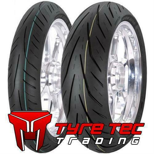 120//70-17 /& 180//55-17 Avon STORM 3D XM HONDA CBR 1000 F Motorcycle Tyres SET