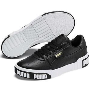 Puma Cali Bold Damen Weiß Schwarz Sneaker | Günstig Online