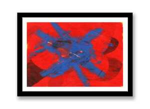 Abstract-blue-and-red-Acrylic-abstract-painting-unique-gift-Print-ID-1513