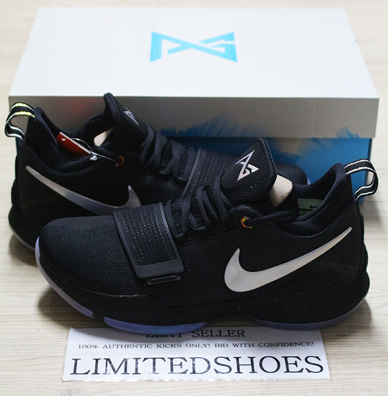 Nike pg 1 ts prototipo paul george shining pre-heat 911082-099 ferocia pe id