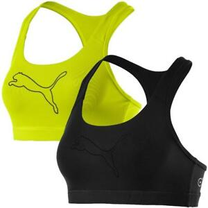Puma-PWRSHAPE-Forever-Logo-Sport-BH-Fitness-BH-Training-Buestenhalter-Top