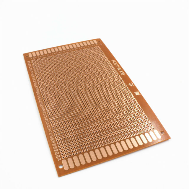 Single Side Copper DIY Prototype Paper PCB Universal Board 9*15 cm 9x15 cm