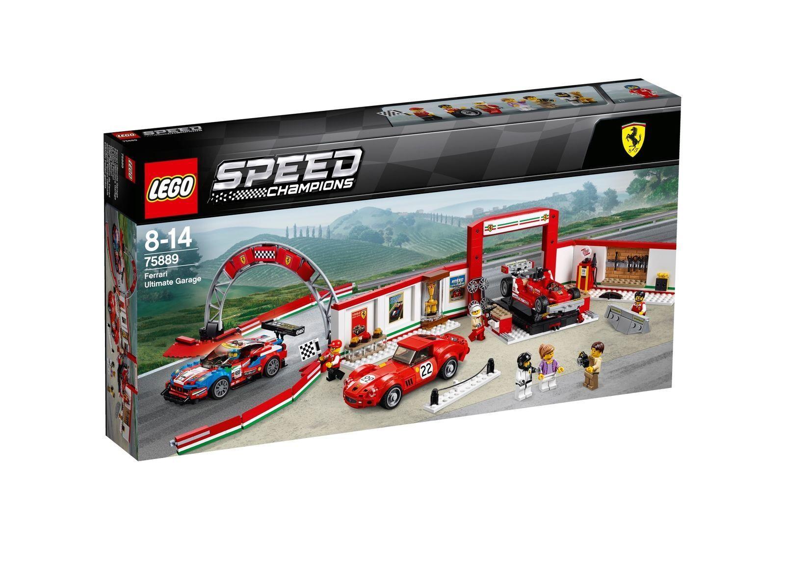 LEGO 75889 Speed Champions Ferrari Ultimative Garage NEU OVP