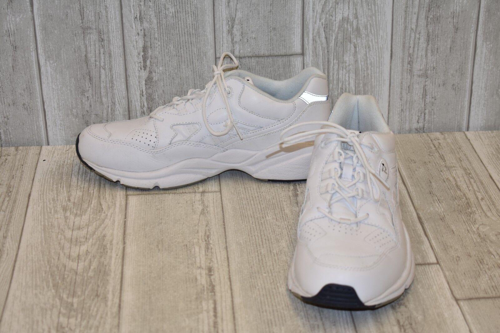 Propet Stability Walker Sneaker-Men's Size 11D White