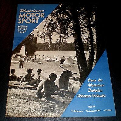 Verdichtung Tatrafahrt FleißIg Illustrierter Motorsport 17/59 Tschaika-pkw,pirita-kurs