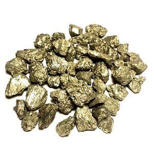 Pyrite-Fool-039-s-Gold-Nuggets-1-2-lb-Lot-1-034-Zentron-Crystals