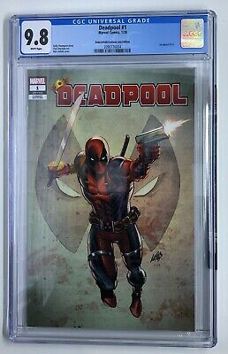 Deadpool #1 CGC 9.8 Rob Liefeld Creations .Com Edition Exclusive Variant Cover