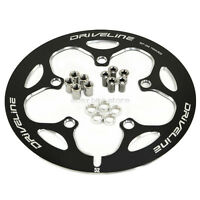 Driveline Crank Chain Guard Road Bike 52t Bcd 110 Black