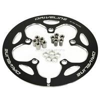 Driveline Crank Chain Guard Road Bike 52t Bcd 110 Black