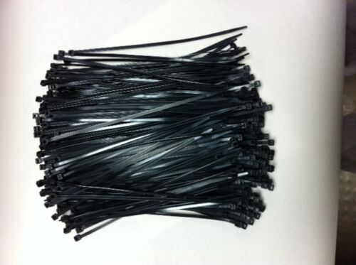 8-40-UV-1000 NYLON ZIP TIE UV//BLACK 1000 PCS
