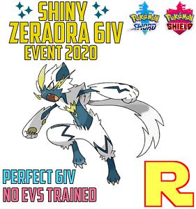 6IV-SHINY-ZERAORA-ITEM-for-Pokemon-SWORD-amp-SHIELD-Legit-amp-Perfect