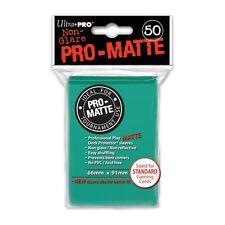 Ultra Pro Matte Aqua 50-Count Standard Sized Card Protectors