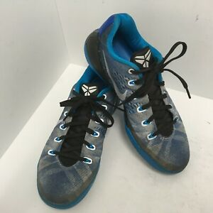 Nike-Kobe-lX-PRM-Premium-Game-Royal-Blue-Silver-Hero-Men-s-Size-8-5M-652908-404