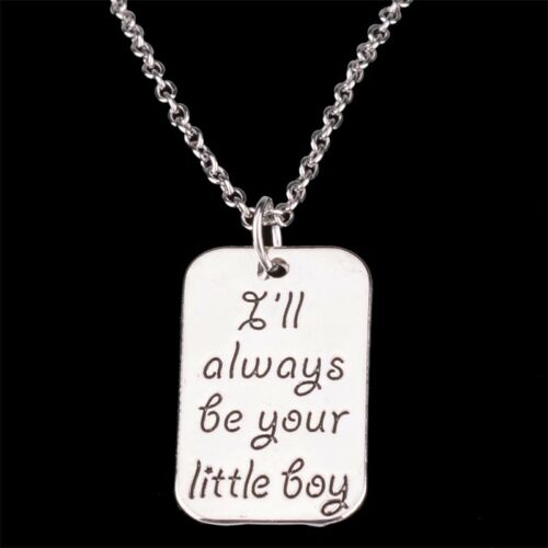 Love Heart Family Best Friends Charms Chain Pendants Necklace Horse Tree Paws